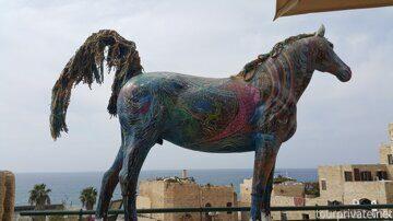 Парящий конь.